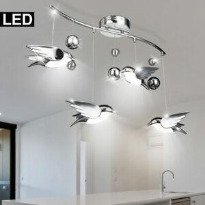 LED Decken Pendel Licht Hänge Lampe Deko 5 Vogel Beleuchtung