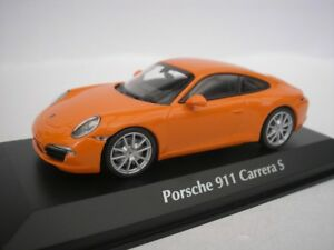 PORSCHE-911-Carrera-S-2012-NARANJA-1-43-maxichamps-940060221-NUEVO