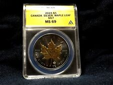 BEAUTIFUL 1 OZ GOLD PLATED MAPLE LEAF BAR HOT ITEM GREAT GIFT IDEA!