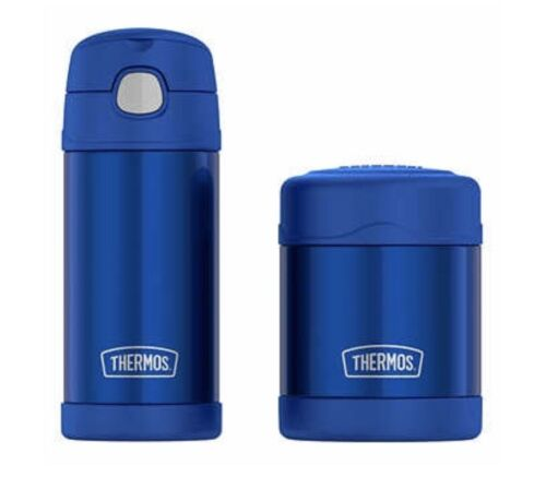 NEW Thermos FUNtainer Bottle and Food Jar Lunch Set