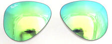 LENTI RICAMBIO RAY BAN 3026 62 19 AVIATOR GREEN MIRROR REPLACEMENT LENSES VERDE