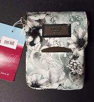 Gigi Hill Gia, Fleur De Lis Cross-body Or Wristlet Mini Wallet, Purse / Bag