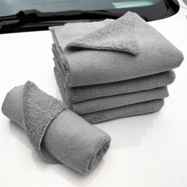 Microfiber Cloth for Car Cleaning Polishing Glass & Detailing Towel Wipe Rag New