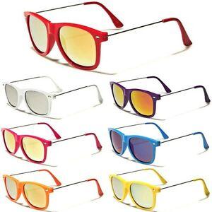 a290e123ac Retro Rewind Women 80 s Glasses Rainbow Mirrored Lens Ladies ...