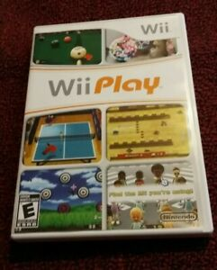 Wii-Play-Game-Complete-With-Manual-And-Tested