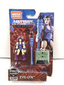 Mega-CONSTRUX-Maitres-de-l-039-univers-Evil-Lyn-Pro-batisseurs-Figure-GNV31-nouveau