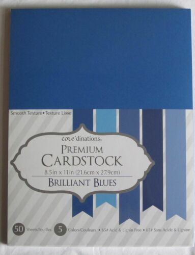 """Darice CORE/'DINATIONS CARDSTOCK Paper 8 1//2/"""" x 11/"""" 50 Sheets YOU PICK COLOR"""