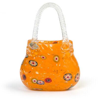 Tasche Murano-glas Millefiori Murrine Mille Fleur Mungeblasen