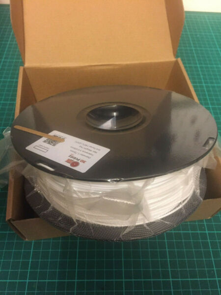 1.75mm 3dprintz White Pla 3d Printer Filament - 1kg Spool - Uk Seller Met De Beste Service