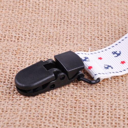 4x Schnullerclip Band Schnullerband Schnullerkette Schnuller Schnullerhalter