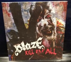 Blaze Ya Dead Homie - Kill 'Em All CD SEALED Single insane clown posse twiztid