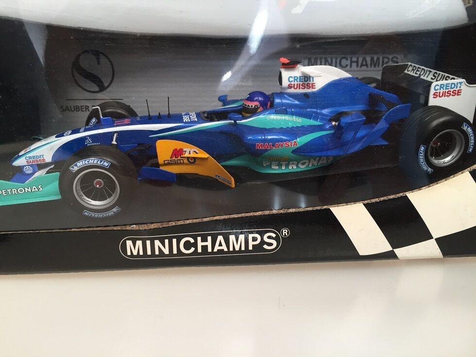 1 18 Sauber Petronas C24 J. Villeneuve 2005