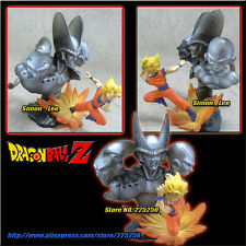 Bandai dragon ball imagination goku ss saiyan vs buu cell freeza figure figura