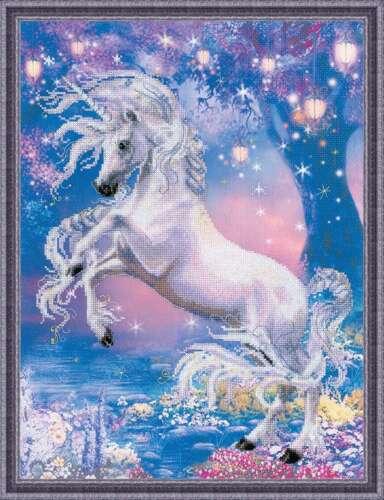 "Puntada cruzada contada Kit Riolis 0024 PT /""Unicornio/"""
