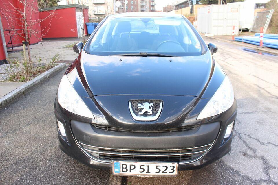 Peugeot 308 1,6 VTi Comfort+ Benzin modelår 2008 km 86000