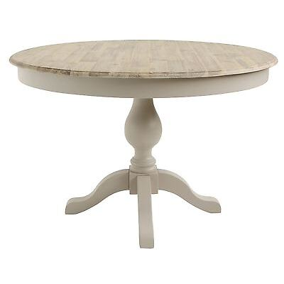 Florence large pedestal round dining table.Truffle dining table,2 drawersQUALITY