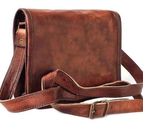 Schouder Mannen Bag Lederen Messenger Laptop Echt Vintage lK3TJc1F