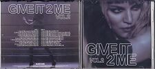 MADONNA  - GIVE IT 2 ME DOUBLE PROMO REMIX CD SINGLE VOL.2