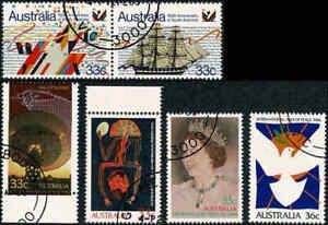 1986-AUSTRALIA-Selected-Issues-FU-CTO