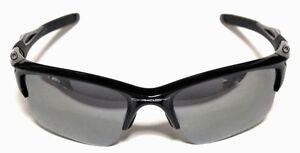 1c2cefeb4a OAKLEY HALF JACKET 2.0 XL OO9154-01 Polished Black Black Iridium ...