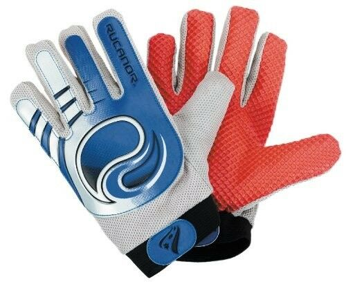 Gants de gardien de but de football, RUCANOR G-101, bleus en S