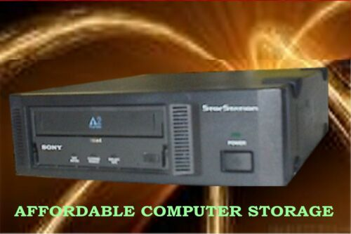 SONY AITe200S tape drive AIT-2 Turbo EXTERNAL LVD ATDEA3 80//208Gb Black