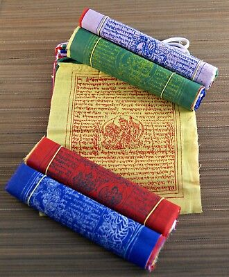 Gebetsfahne ~ Original Tibet Nepal ~ ca 1,60 m lang 1418