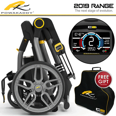 Golfstream evolution golf trolley