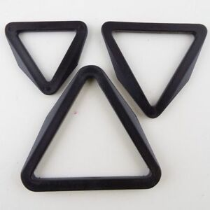 25-38-50mm-TRIANGLE-Black-Plastic-Ring-Slider-Adjuster-Webbing-Fitting-BUY-2-4-8