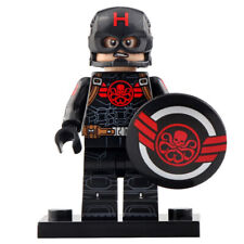 Captain Marvel /& Cat Bundle Pack Lego Moc Minifigure Gift For Kids