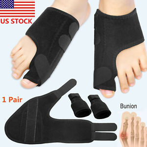 2PCS-Big-Toe-Bunion-Splint-Straightener-Corrector-Foot-Pain-Relief-Hallux-Valgus