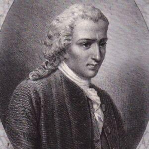 Portrait-XIXe-Jacques-Clinchamps-de-Malfilatre-Poete-Poesie-Caen-Normandie