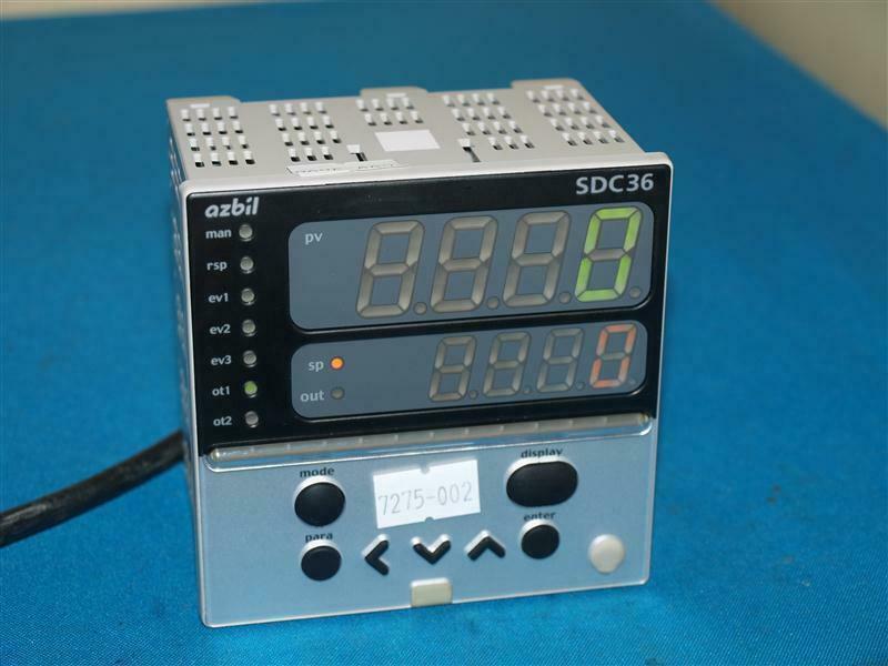 Details about  /1 pc  used  YAMATAKE temperature controller SDC31 C312GA C315GA C315GA000300