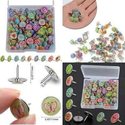 Mode Stecknadeln Metall Push Pins Für Mwoot 100 Stücke Dekorative Reißzwecke