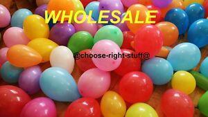 En-Gros-25-4cm-Latex-Uni-Ballons-100-5000-Melange-de-Couleurs-pour-Fete-des