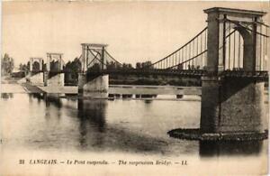 CPA-Langeais-Le-Pont-suspendu-611687