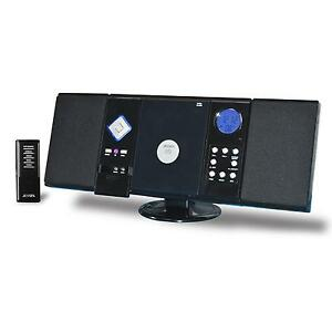 JENSEN-HOME-STEREO-RECEIVER-CD-PLAYER-SYSTEM-w-REMOTE-CONTROL-WALL-MOUNTABLE