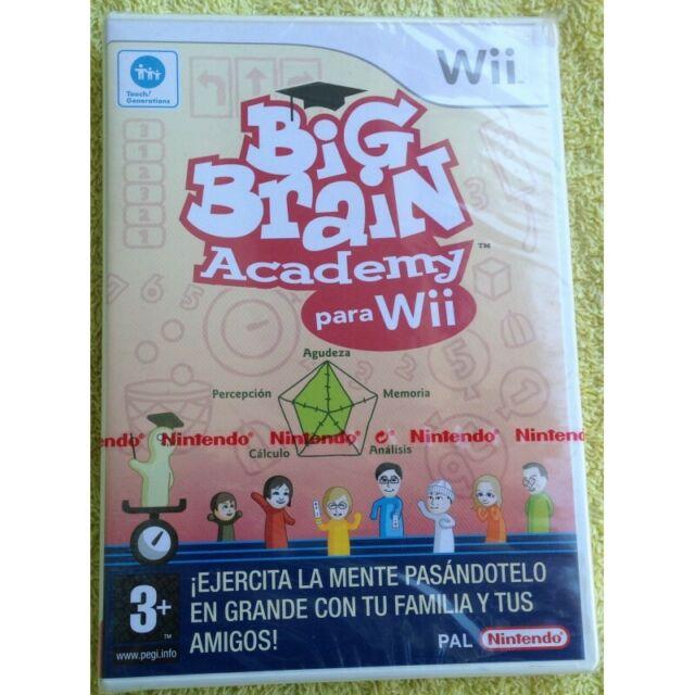 BIG BRAIN ACADEMY - NINTENDO Wii - Nuevo Precintado
