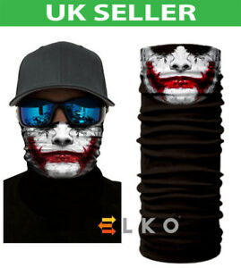 ELKO-Multiuse-Clown-Biker-Balaclava-Neck-Tube-Warmer-Snood-Scarf-Face-Mask