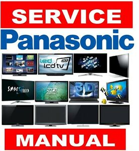 panasonic plasma lcd led 3d smart uhd 4k tv service manual and rh ebay com panasonic viera lcd tv service manual panasonic lcd tv service manual