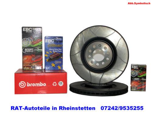 Brembo Max Sport 2xBremsscheiben Focus 258mm-VA-FORD Fiesta IV,V,Van DAW,DNW.