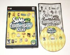 The Sims 2 Celebration Stuff PC Game 2007 Complete With Key Expansion Pack