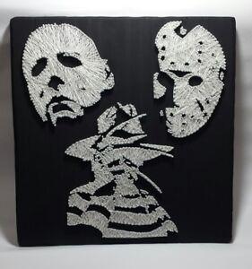 Image Is Loading Horror String Nail Art Figures Myers Krueger