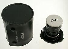 KERN Switar 1,6/10 10 10mm F1,6 1,6 C-mount Multicoated Bolex EL new old stock