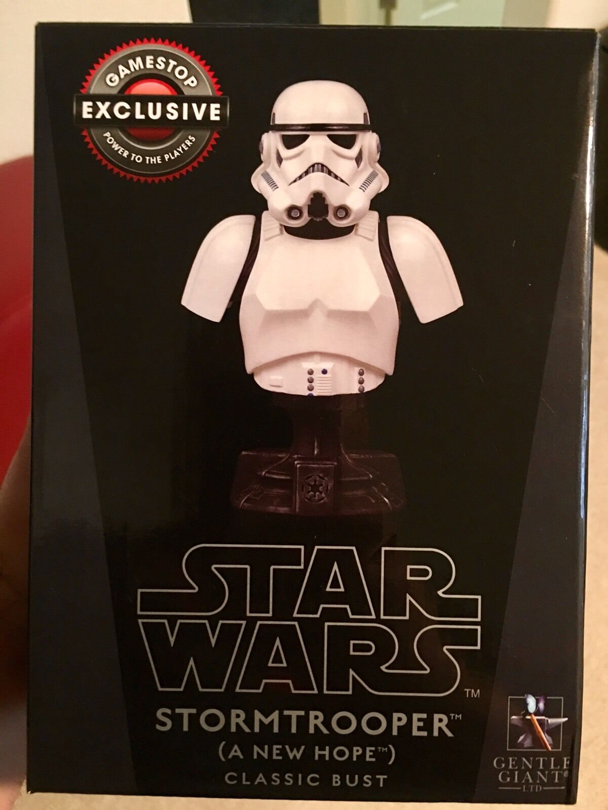 1 6 Scale Star Wars Stormtrooper Classic Bust A New Hope Gentle Giant GameStop