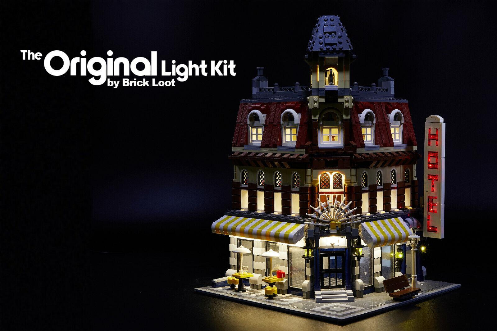 LED Lighting kit fits LEGO ® Café Corner set 10182