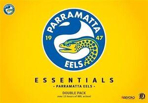 NRL-Essentials-Parramatta-Eels-Double-Pack-DVD-NEW-Region-4-Australia