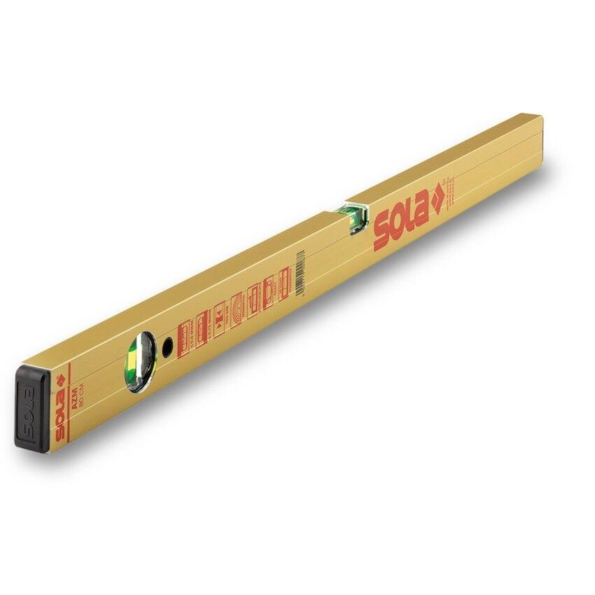 SOLA Wasserwaage AZM 100 cm Aluminium mit Magneten Art. 01181301 | Große Klassifizierung  | Maßstab ist der Grundstein, Qualität ist Säulenbalken, Preis ist Leiter  | Sehr gelobt und vom Publikum der Verbraucher geschätzt