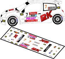DECALS 1/43 RENAULT CLIO S1600 - #7 - KUBICA - RALLYE DU VAR 2010 - MFZ D43110