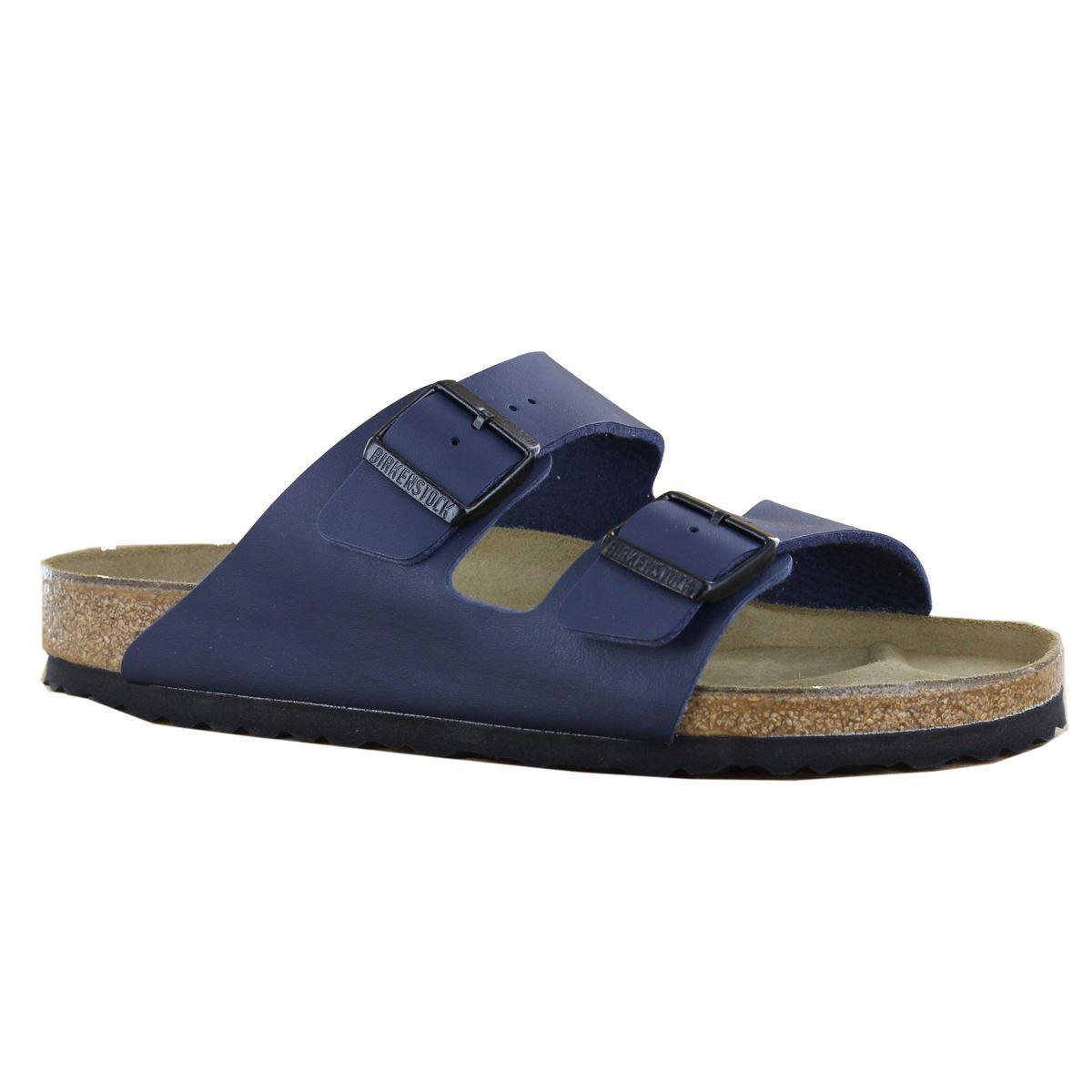 Birkenstock Arizona Blue Synthetic Mens Sandals